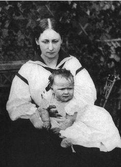 С матерью