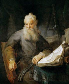 Рембрандт. Апостол Павел