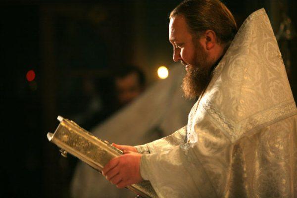 Vánoční služba v klášteře ionty