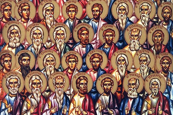 Собор 70-ти апостолов. Фрагмент иконы