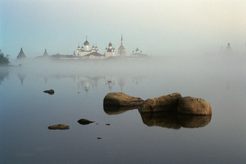 В тумане. Фото: Сергей Веретенников