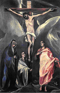 Ил. 1. Эль Греко. Распятие. 1588 г.