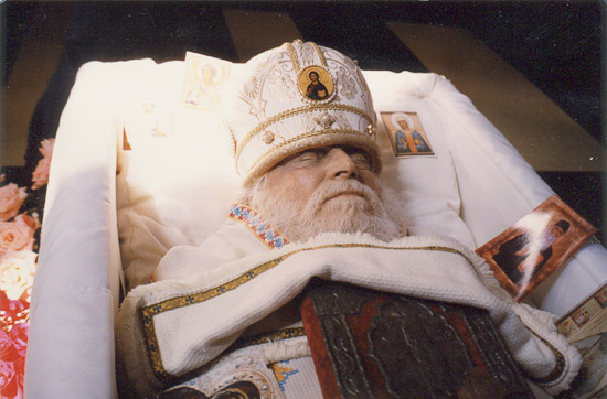 Bishop Basil (Rodzyanko) after death