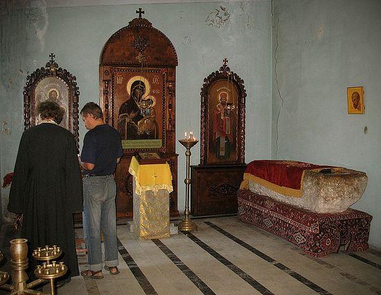 Гробница свт. Иоанна Златоуста в Команах. Фото: А. Поспелов / Православие.Ru