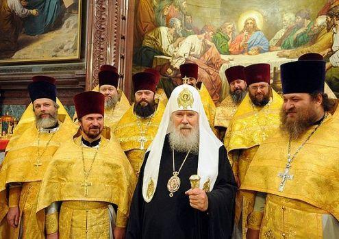 Патриаршее служение в день памяти святителя Филарета, митрополита Московского 2 декабря 2008 г.