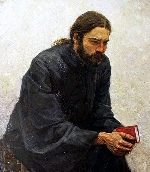 A. Kosnichev. Monk