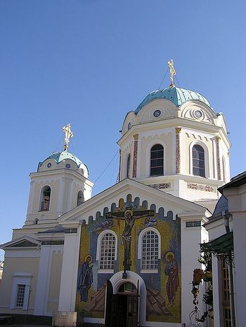 The Church of the Holy Trinity in Simferopol