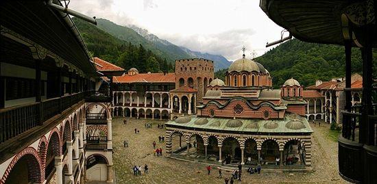 The Monastery of St. John of Rila, Bulgaria