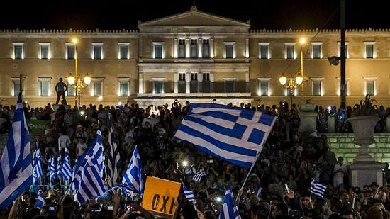 «OXI» («Не») - резултати гласања на реферндуму о европским кредитима