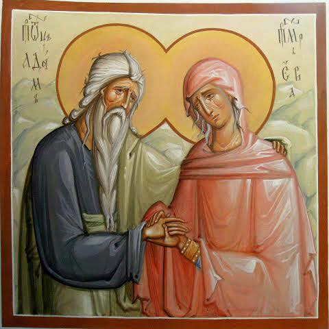 Image result for image of icon of adam and eve
