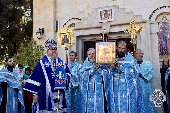 В праздник Казанской иконы Божией Матери престольные торжества прошли в Горненской обители в Иерусалиме