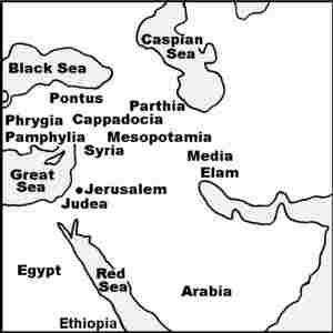 Библейски карти