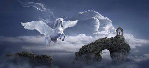 autistische fantasied pegasus horse
