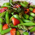 Asparagut Salad - Obsessed by eating right - Orthorexia nervosa
