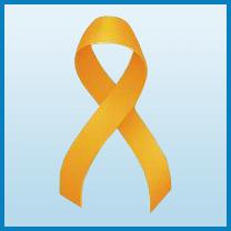 Appendix Cancer ribbon color