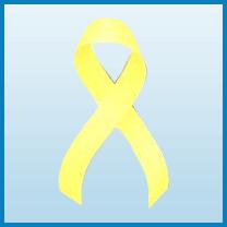 Sarcoma Or Bone Cancer ribbon color