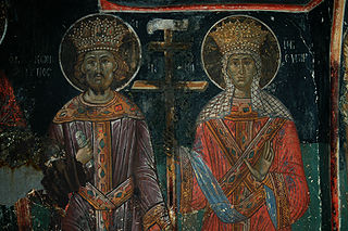 Saint Helen and Emperor Constantine