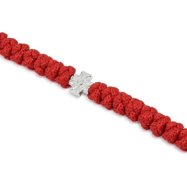 Hervorragende orthodox rote 100 Knoten Gebetskette