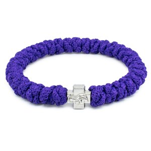 Dark Purple Prayer Bracelet-0
