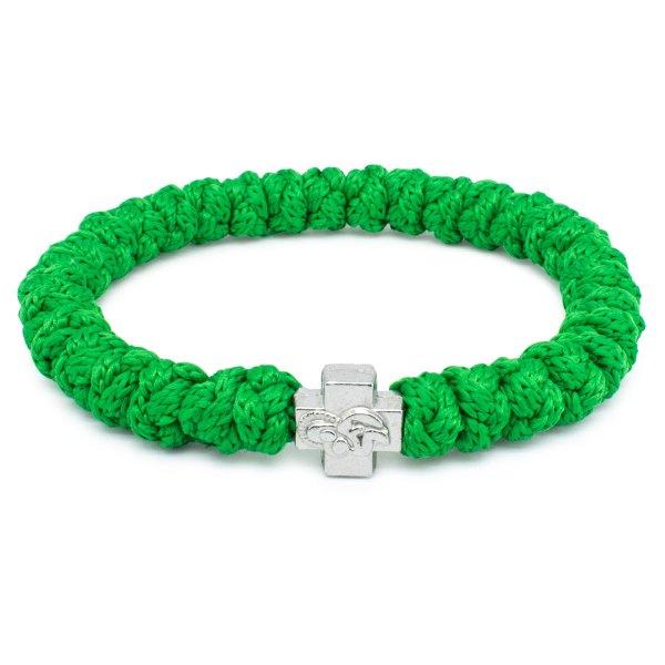 Lila Prayer Bracelet