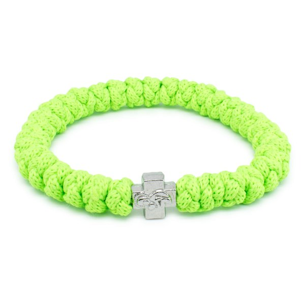 Neon Green Prayer Bracelet-0