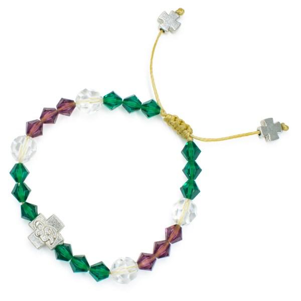 """Original Swarovski Crystal Prayer Bracelet """"Anna"""""""