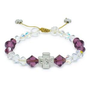 """Traumhaftes orthodox Armband mit Swarovski Element Kristallen """"Bella"""""""