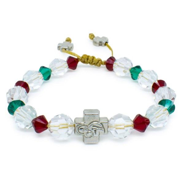 "Tolles orthodox Armband mit Swarovski Element Kristallen ""Jane"""