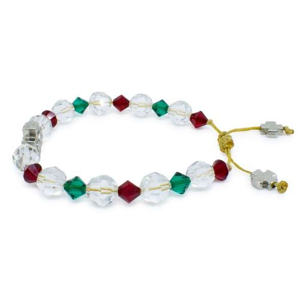 "Spectacular Swarovski Crystal Prayer Bracelet ""Jane"""