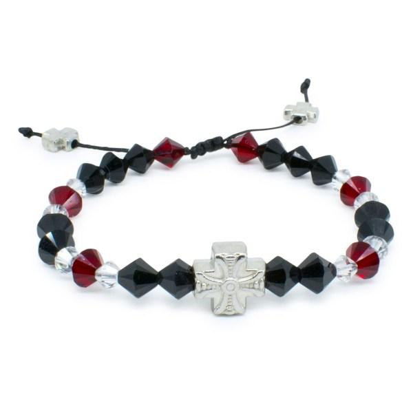 """Umwerfendes orthodox Armband mit Swarovski Element Kristallen """"Stendal"""""""