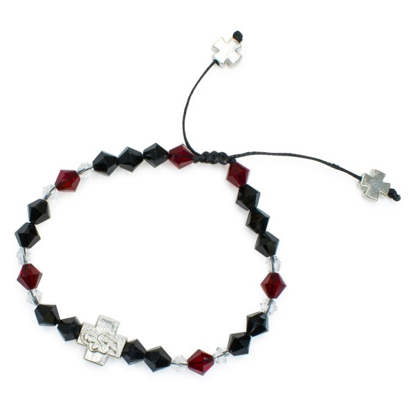 "Charming Swarovski Crystal Prayer Bracelet ""Stendal"""