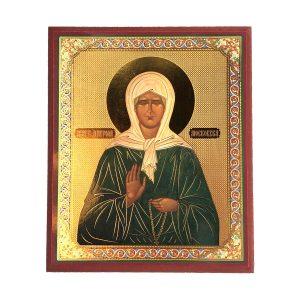 Wunderbare Heilige Matrona der Moskauer orthodoxen Ikone.