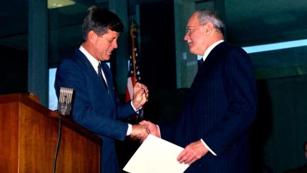 JFK & Allen Dulles