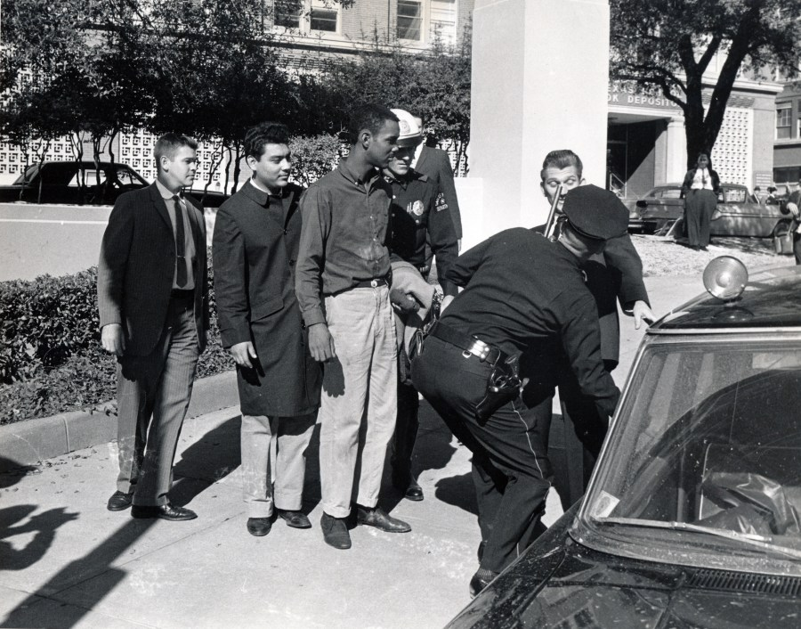 Bill Shelly Bonnie Ray Williams Danny Arce Garcia Dealey Plaza-ROKC Scan