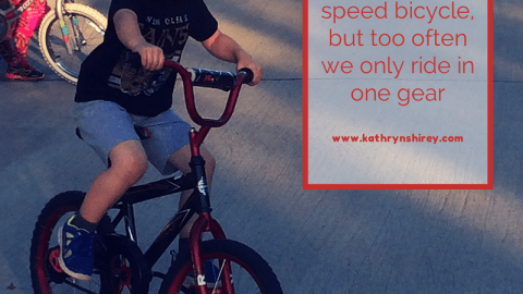 Does Your Life Have Only One Speed?