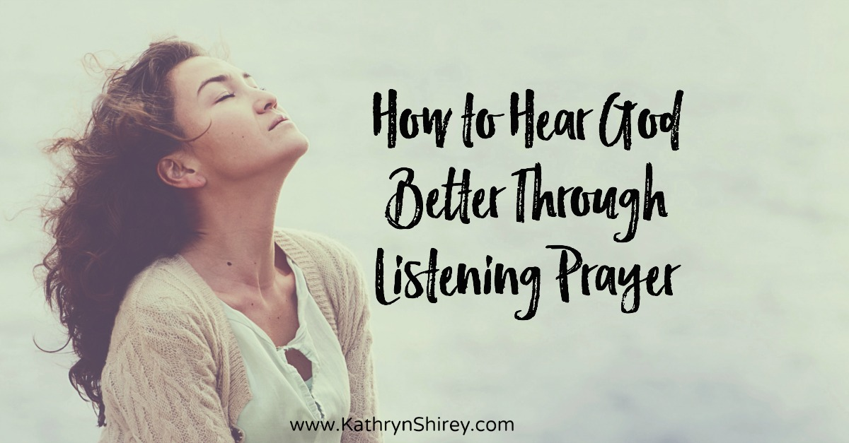 Prayer isn't always about words, sometimes it's just about listening. Learn how to use a listening prayer to hear God's still small voice. (+ free printable prayer cards)