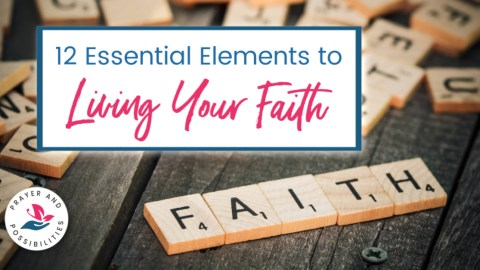 How are you living your faith? How does the world see Jesus in you? Learn how you can live a visible faith that reflects Jesus and leads other to him.