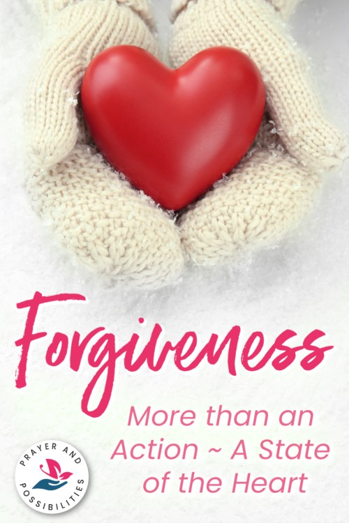 Forgiveness is more than an action. It's a state of the heart. Forgiveness from the heart will root out bitterness. Learn how you can have a forgiving heart