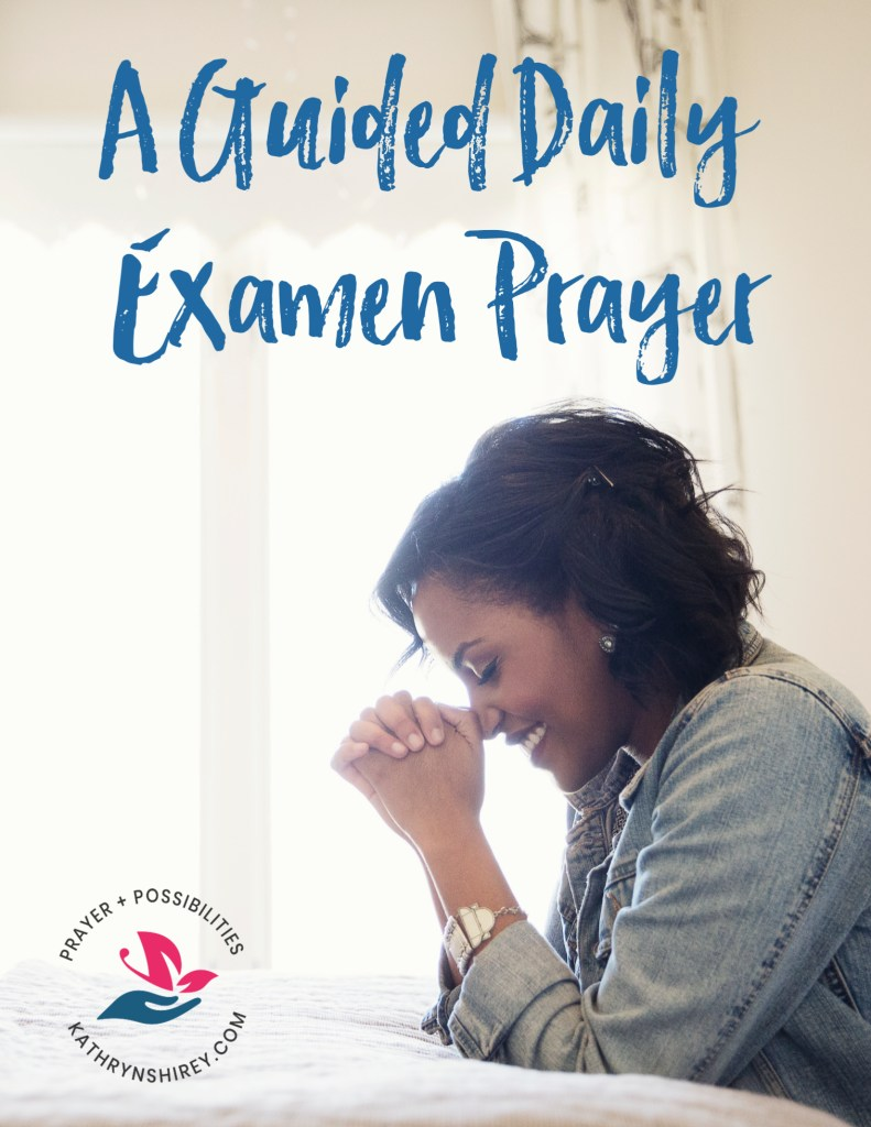 Guided Examen Prayer printable