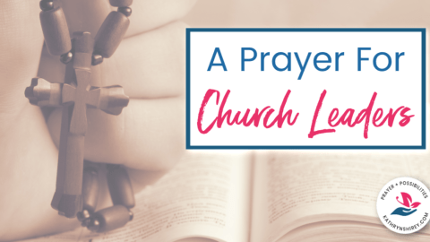 Prayer for Church Leaders