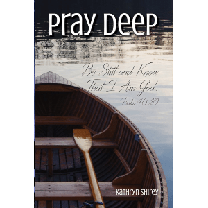 Pray Deep: Finding Stillness in the Storm - 21 day prayer devotional focused on finding stillness and peace with God, even through life's worst storms. Find hope and peace in God through these 21 days of prayer.