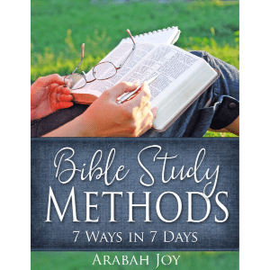 Bible Study Methods - learn 7 methods for Bible study to go deep, wide, and abide in God's Word.