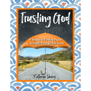 Trusting God 4-week devotional to learn to trust God in the storm