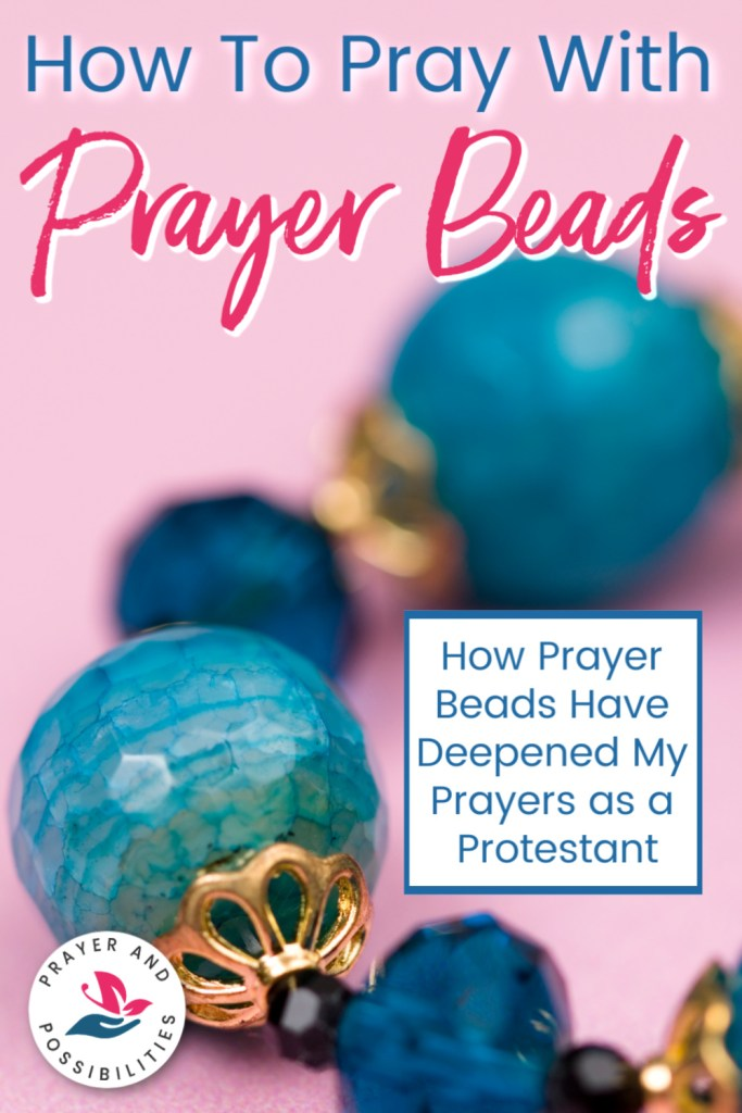 Can Protestants pray with beads? Praying with Anglican Prayer Beads brings more focus to your prayers. Learn how to pray with Christian prayer beads.