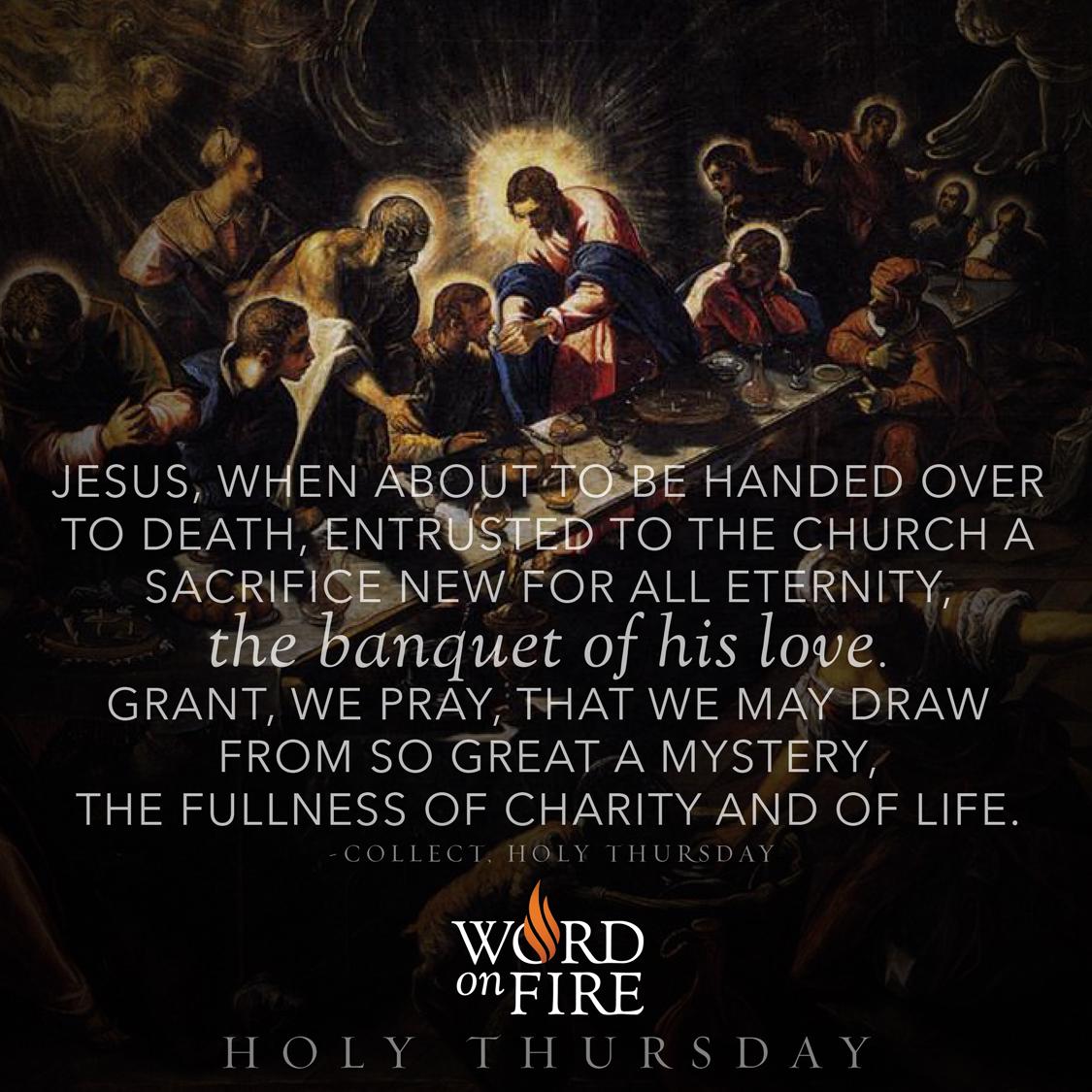 Prayergraphics Holy Thursday