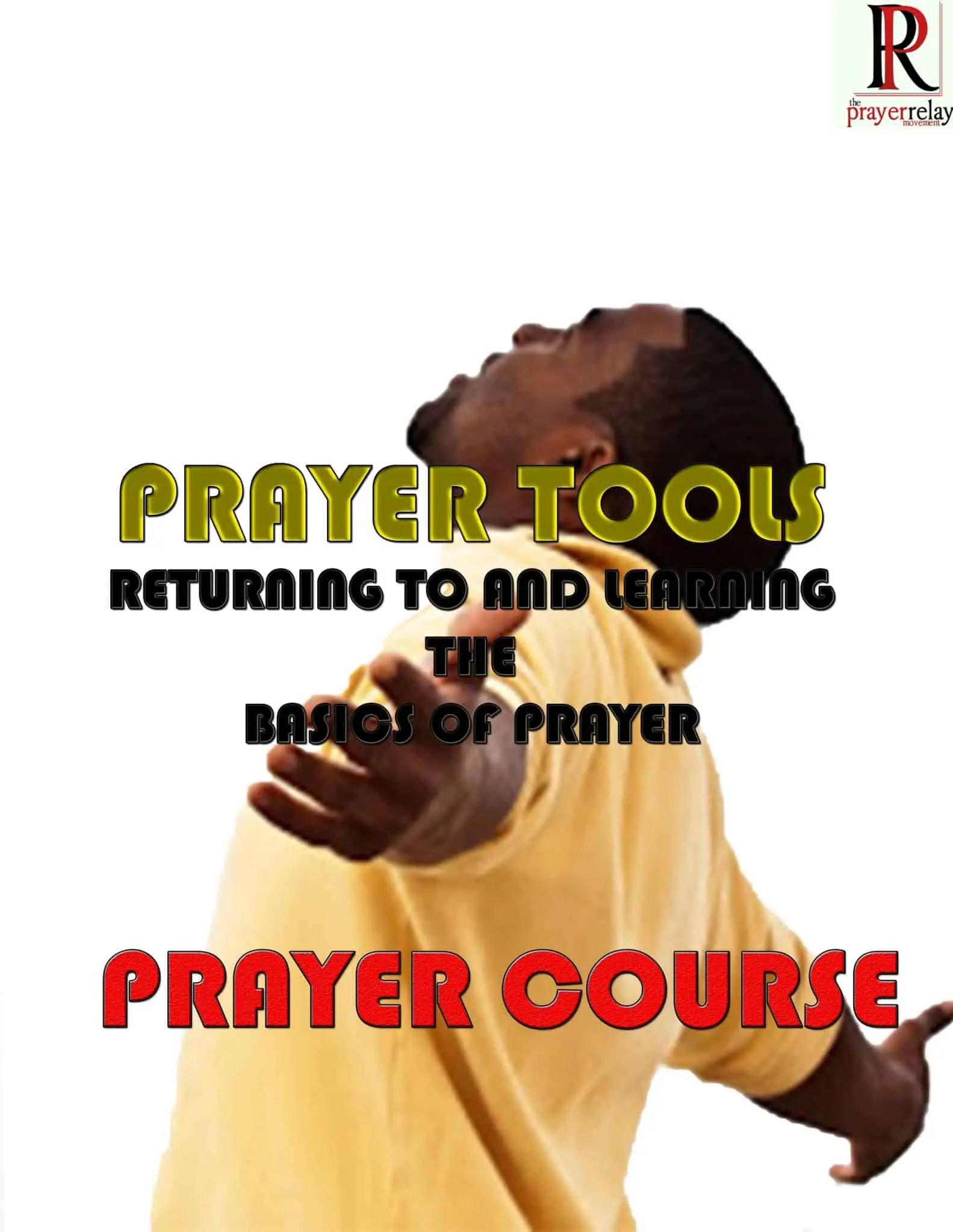 Prayer Tools Prayer Course