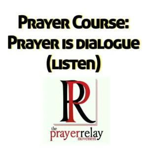 prayer is dialogue 1