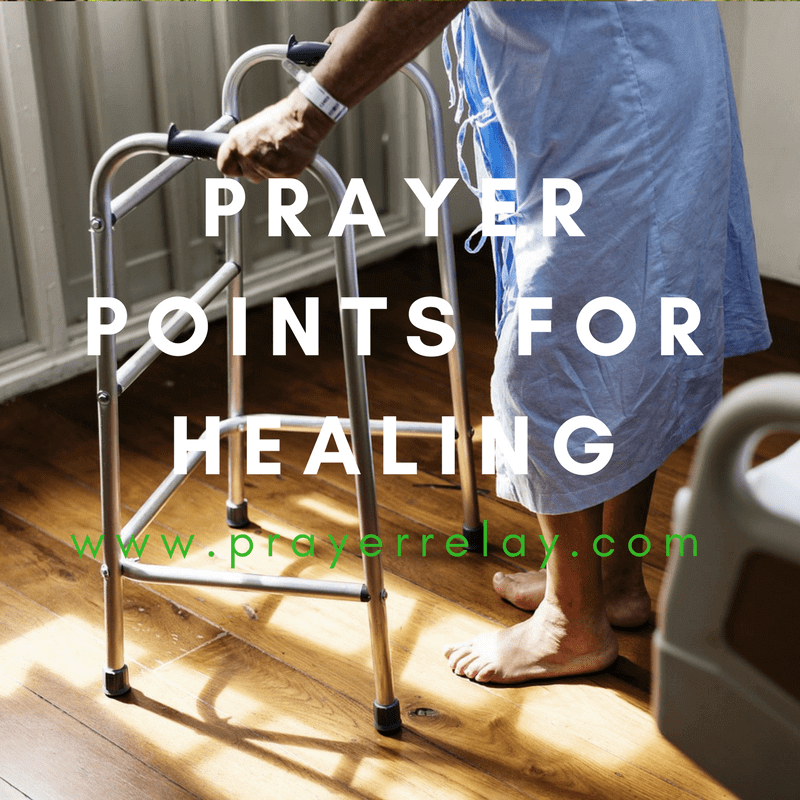 Prayer Points for Healing