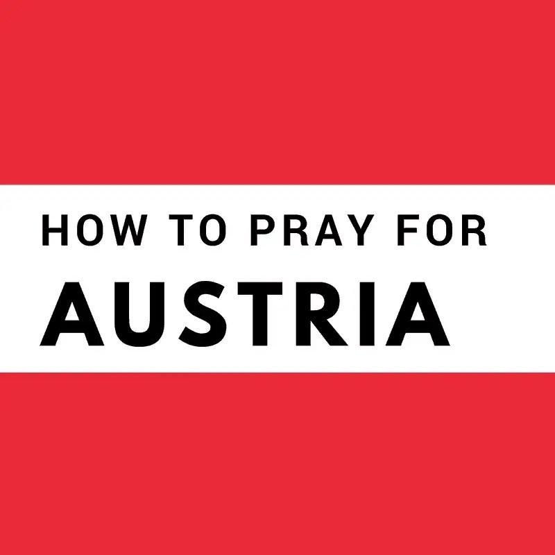 PRAY FOR AUSTRIA 1