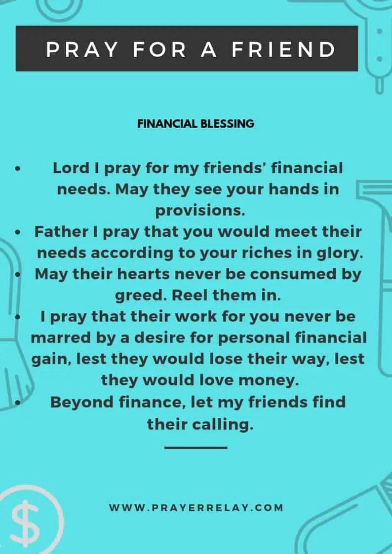 PRAY FOR A FRIEND